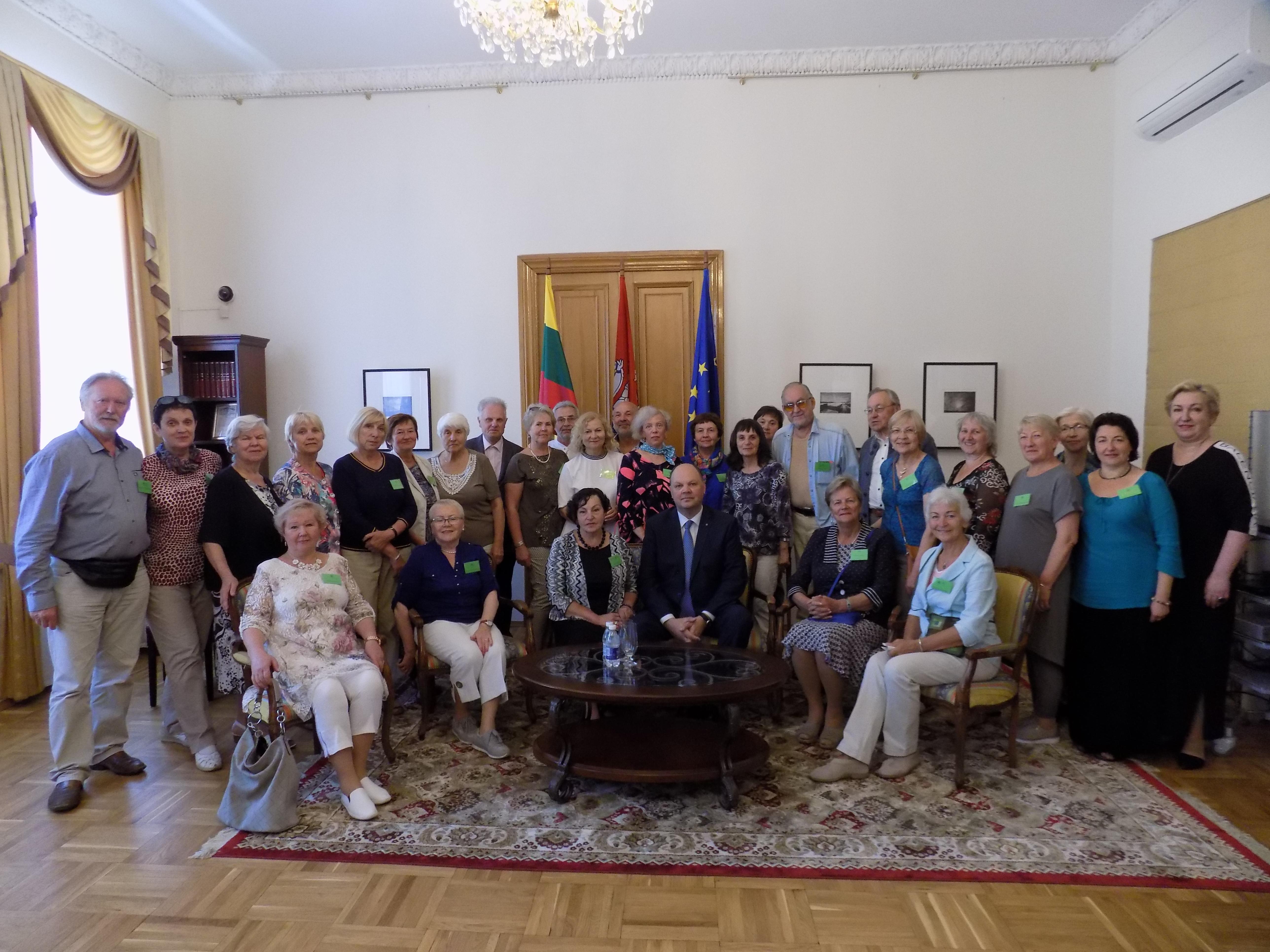 Lietuvos ambasadoje Sankt Peterburge