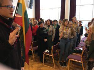 """XX – tasis Skautų dainų konkursas """"Gražių dainelių daug girdėjau"""", 2019."""