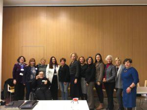 Susitikimas su Europos moterų lobistinės organizacijos (EWL) nariais  ir  viešnia iš Nyderlandų
