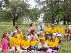 Tarptautinis poezijos pavasario festivalis 24 Vaikų knygos šventė Zomčinėje