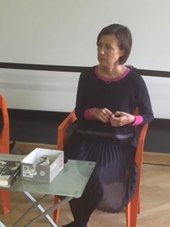 Susitikimas su teatrologe Ina Pukelyte