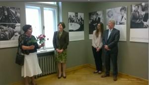 Čekijos ambasadorius, Vertėja, parodos kuratorė J. Balsienė