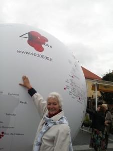 Pasaulio lietuvių meno parodoje Vilniuje