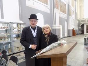 Aktoriai P.Venslovas ir Olita Dautartaitė