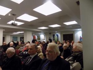 Bazilikos konferencijų salėje