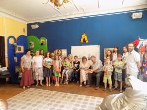 Rytmečio svečiai su Sigitos šeimyna