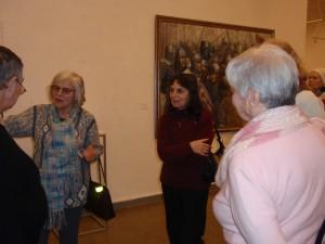 Dalė Bingelienė dalinasi savo prisiminimais apie  pažintį su dailininku Sauka