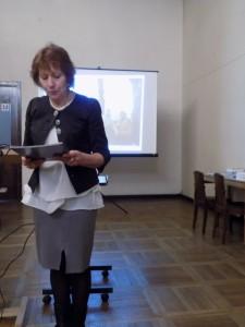 Financinę  ataskaitą perskaitė  Kauno sk. finansininkė V.Randienė