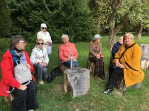 Ilsimės ir grožimės prof. Tado Ivanausko sode