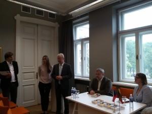 Knygos apie Čekiją pristatyme V. Adamkaus bibliotekoje-muziejuje