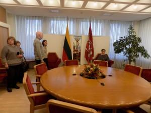 LR Seime Prezidento kambarys