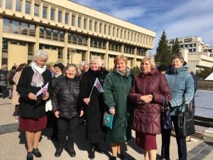 LUMA Vilniaus ir Kauno narės Pasaulinės kultūros dienos šventėje prie LR Seimo