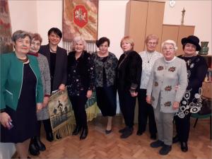 Susitikimas su Šveicarijos lietuvių bendruomenės pirmininke Jūrate Casperson