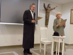 Petras venslovas ir Olita Dautartaitė