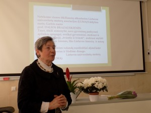 Prof. D.M Brazauskinės laboratorijos atidaryme ASU