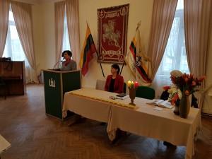 Renginio vedėja LUMA prezidentė Dalia Poškienė