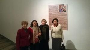 """Skulptoriaus Leono Striogos parodoje """"Geležies amžius"""""""