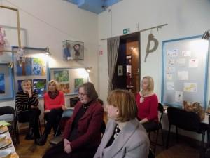 Vaikų literatūros muziejuje -LUMA narės Šiaurės Šalių bibliotekų savaitės renginyje